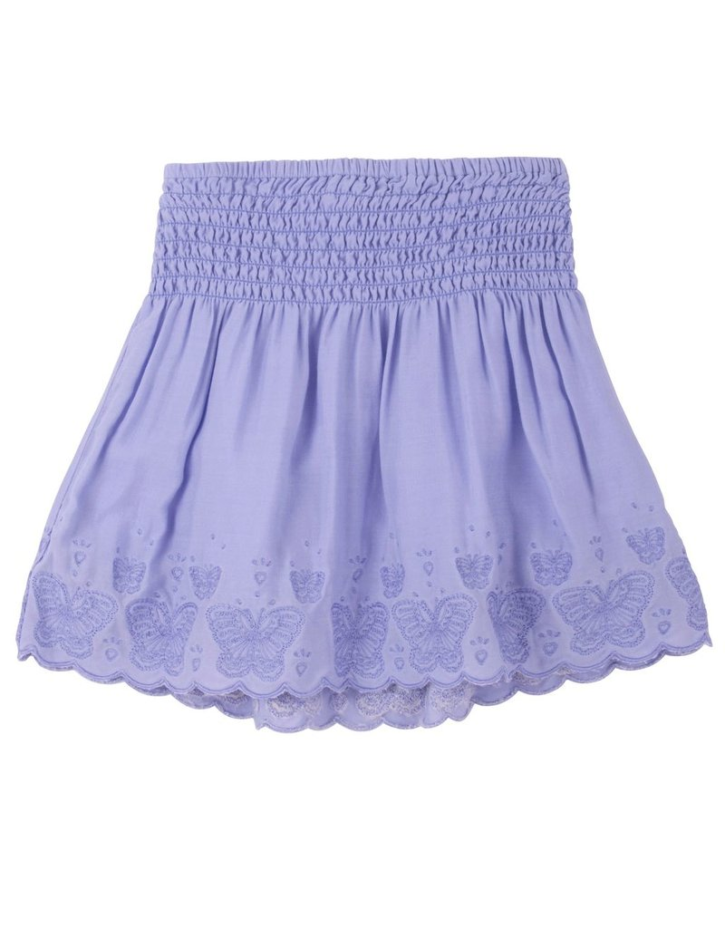 Hatley Hatley Butterfly Embroidered Hem Skirt