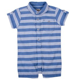 Hatley Hatley Baby Striped Shortfall - Safari
