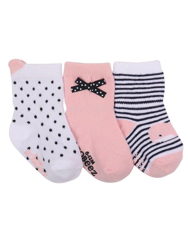 Girl's Sock 3pk