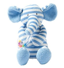Manhattan Toys Giggle Soft Small Elephant Ring Rattle