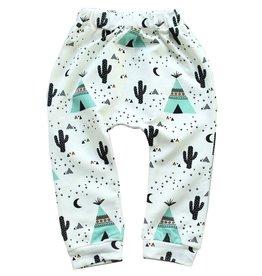 Teepee + Cactus Harem Pants