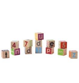 Manhattan Toys Giggle Wood Block Set
