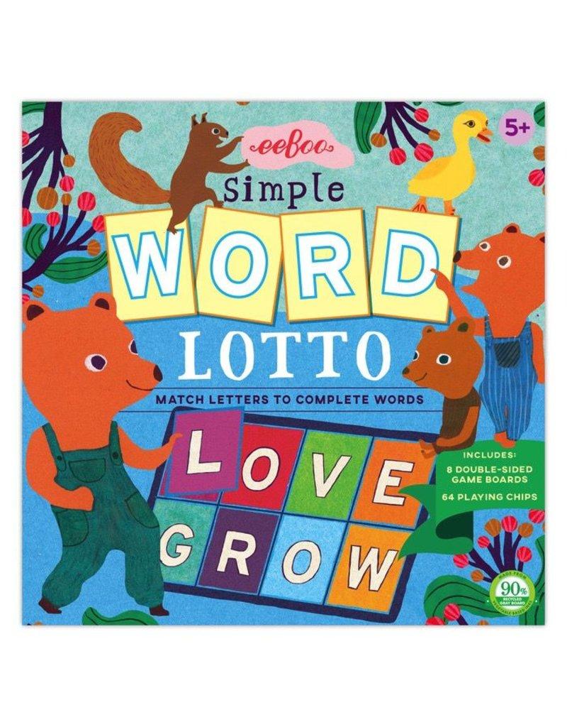 Eeboo Eeboo Simple Word Lotto