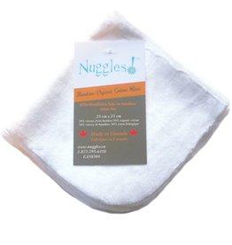 Nuggles Bamboo/Organic Cotton Velour Wipes - 5pk