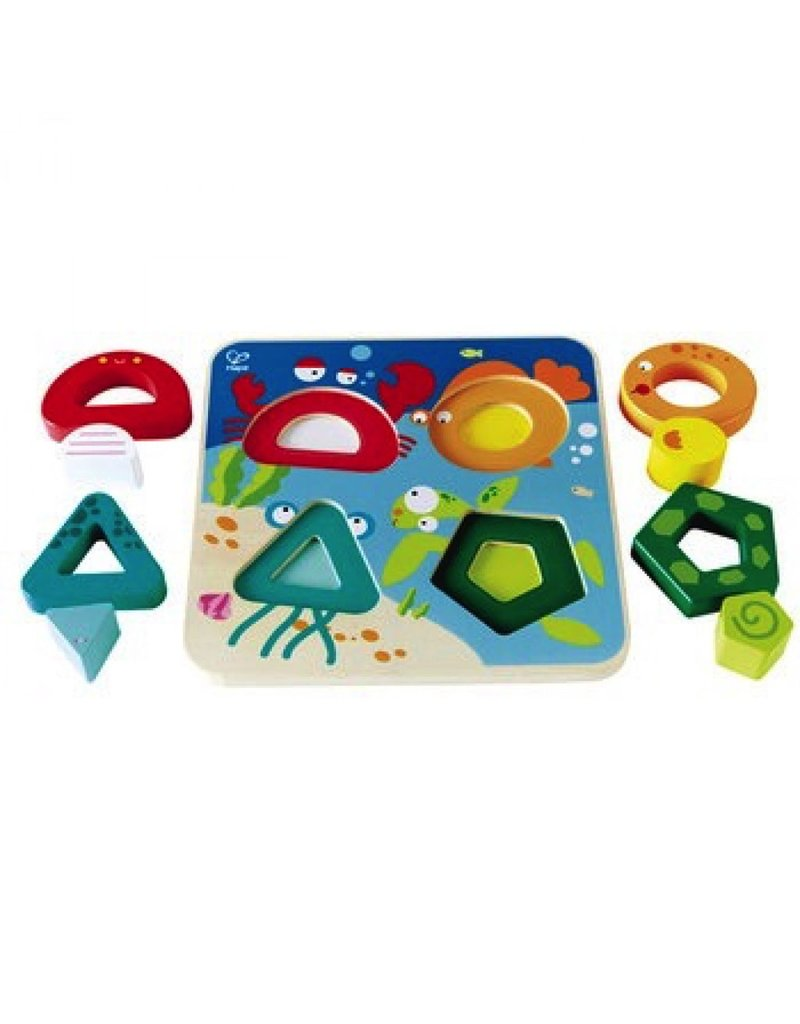 Hape Toys Underwater Escapade Stand Up Puzzle