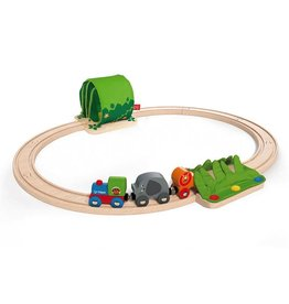 Hape Toys Jungle Train Journey Set