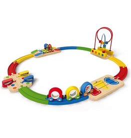 Hape Toys Musical Melody Railway Set