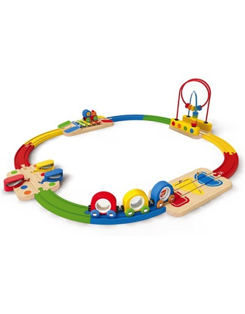 hape toys musical melody railway set  vancouver's best baby  - hape toys musical melody railway set