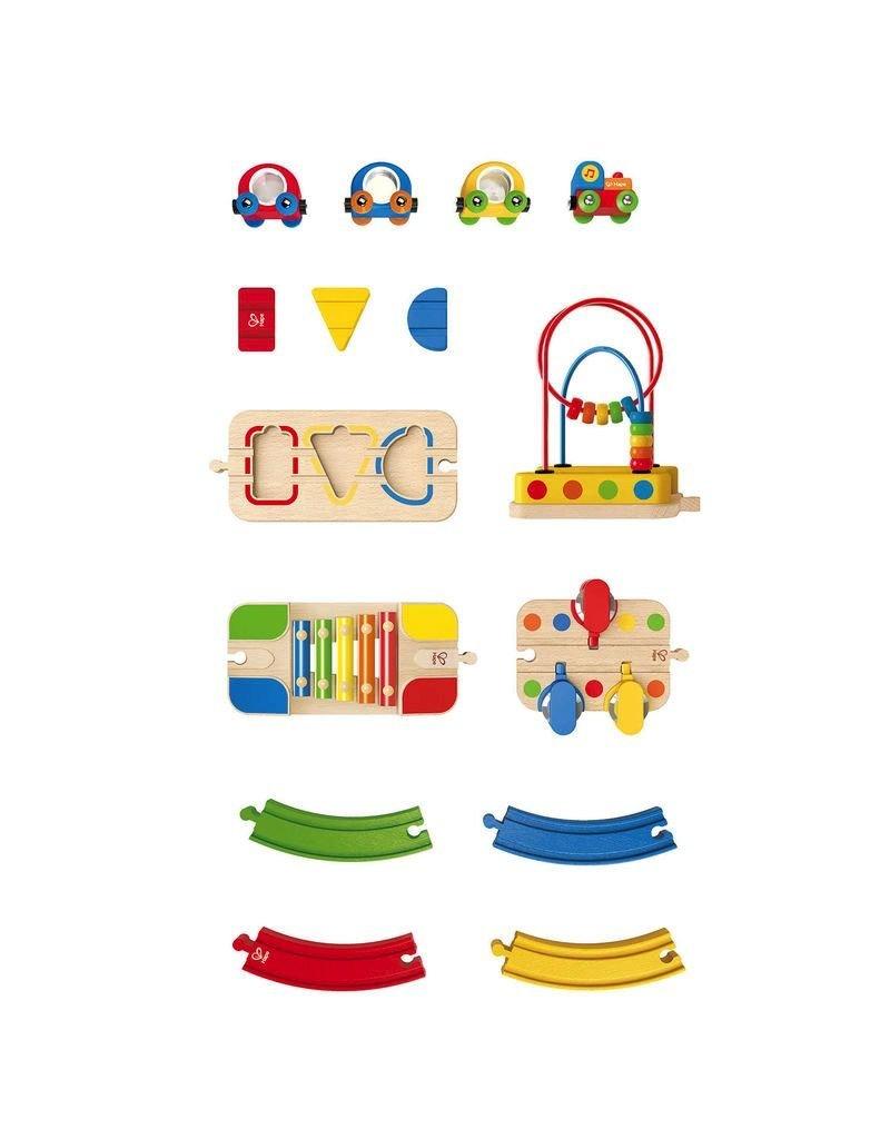Hape Toys Musical Melody Railway Set