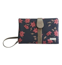 JJ Cole J.J. Cole Changing Clutch - Navy Floral