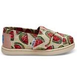 Toms Glitter Watermelon Alpargata