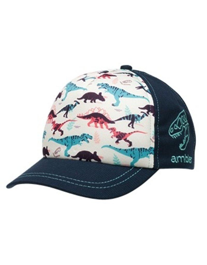 Ambler Dino Little Leaguer Baseball Hat, 2-6Y