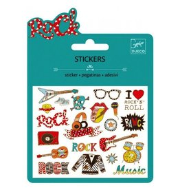 Djeco Mini Stickers / Pop And Rock
