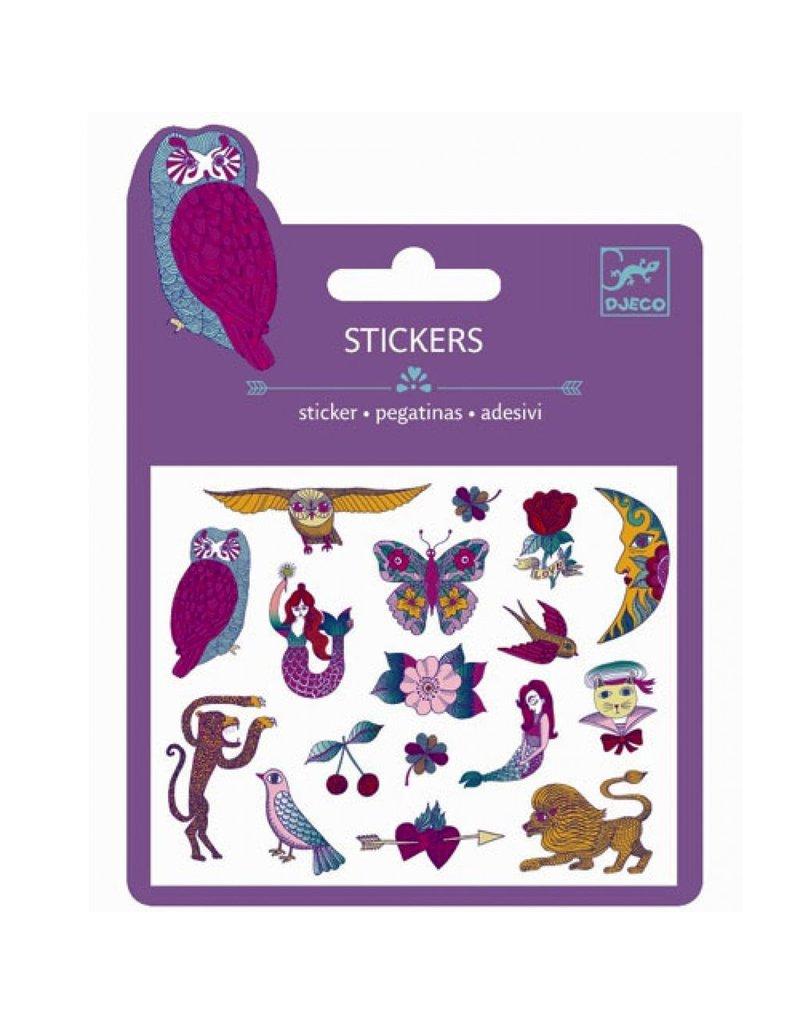 Djeco Mini Stickers - Chimeras