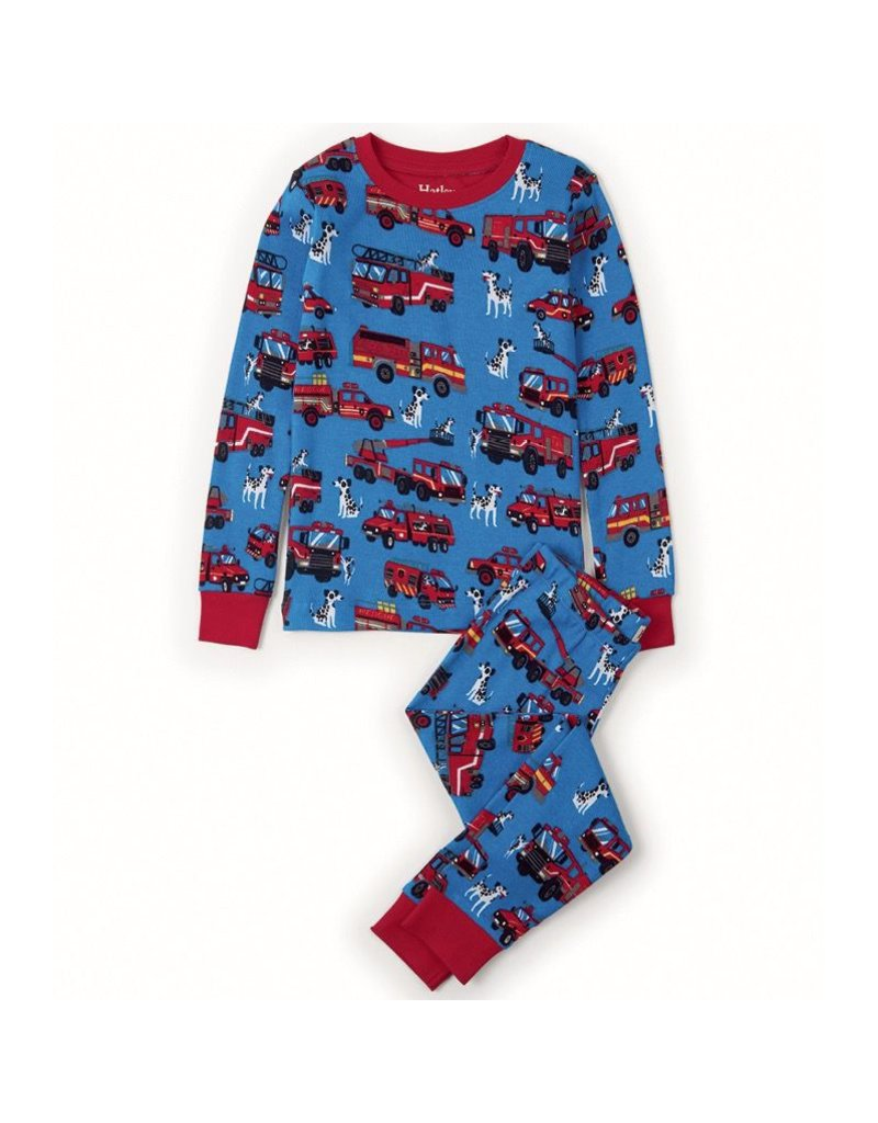Hatley Fire Trucks Pj Set