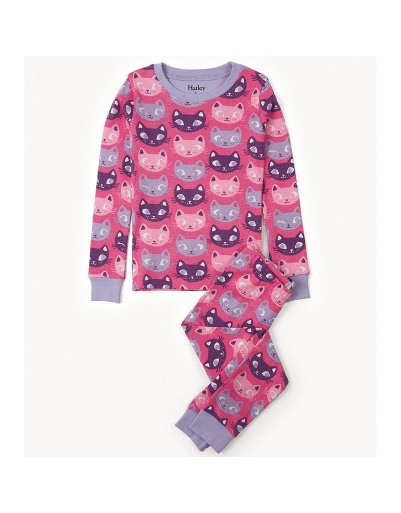 Hatley Silly Kitties Pj Set