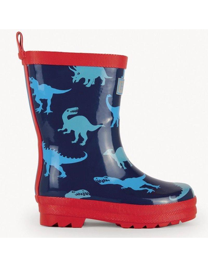 Hatley Dino Shadows Rain Boots