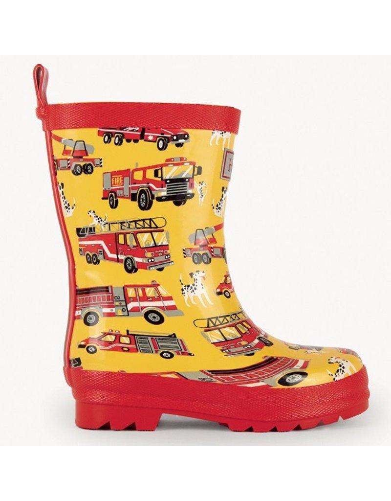 Hatley Fire Trucks Rain Boots