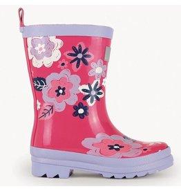 Hatley Wintery Blooms Rain Boots