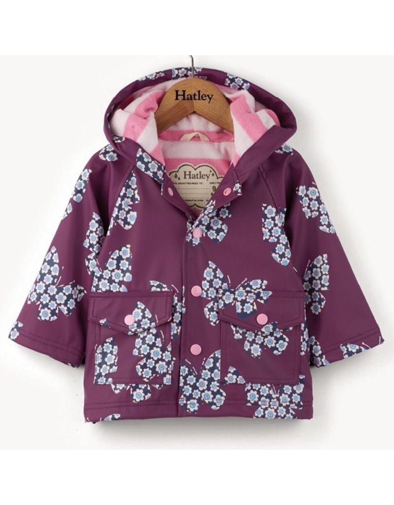 Hatley Butterflies & Buds Baby Raincoat