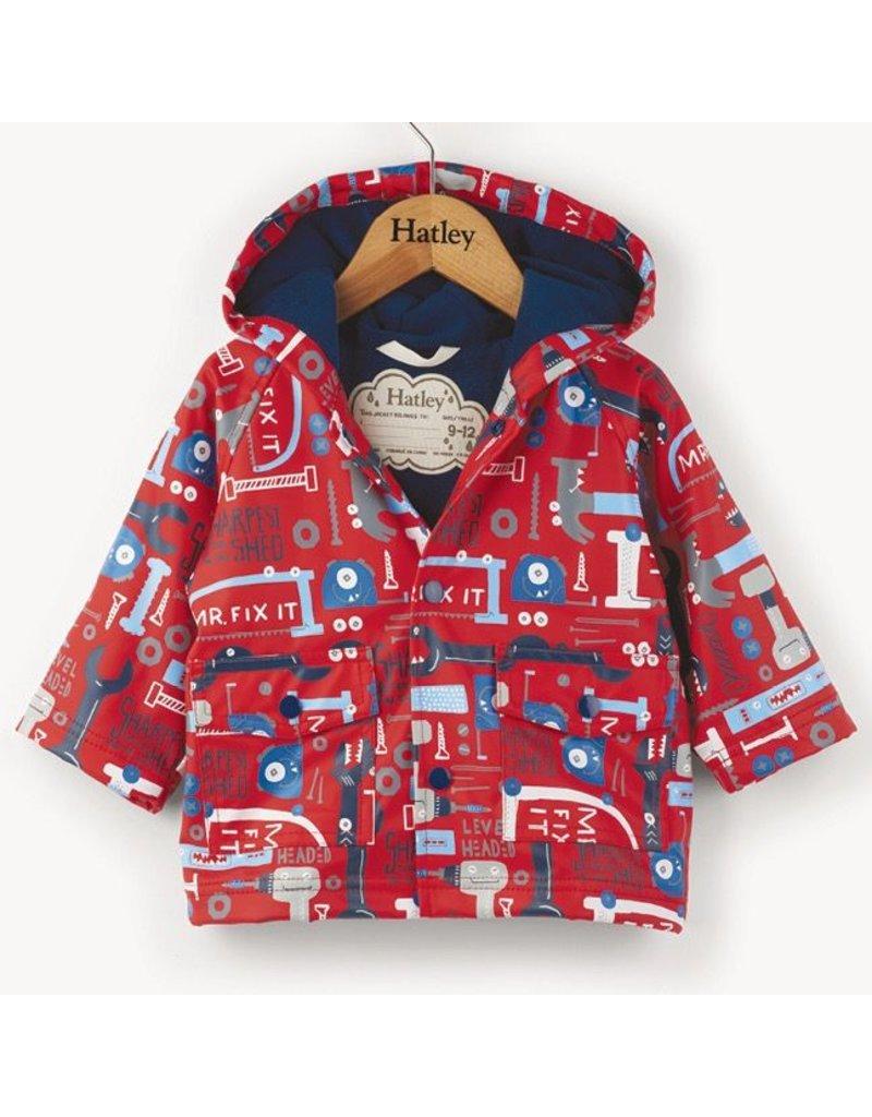 Hatley Mr.Fix It Baby Raincoat