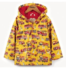 Hatley Fire Trucks Raincoat