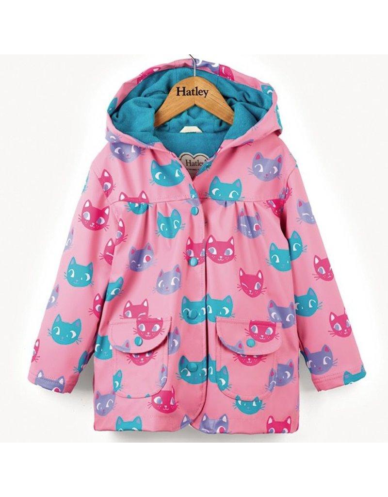 Hatley Silly Kitties Raincoat