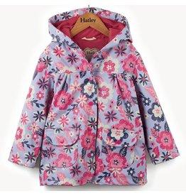 Hatley Wintery Blooms Raincoat