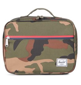 Herschel Herschel Pop Quiz Lunch Box - Woodland Camo