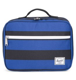 Herschel Herschel Pop Quiz Lunch Box - Black/Surf The Web Stripes