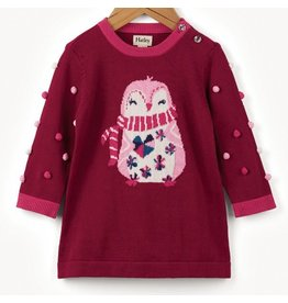 Hatley Cozy Penguin Sweater Dress