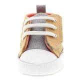 Converse Gold First Star HIgh Street Crib Shoe
