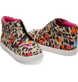Toms Tiny FLoral Leopard Paseo High
