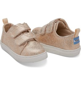 Toms Tiny Rose Gold Lenny PUL Sneaker