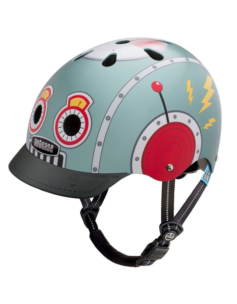 Nutcase Nutcase G3 Little Nutty Helmet Tin Robot