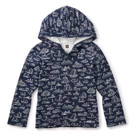 Tea Collection Tea Collection Sail Away Happy Hoodie