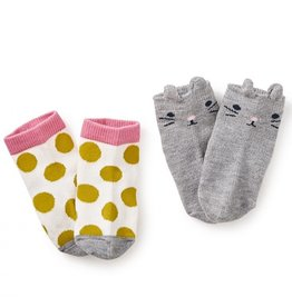 Tea Collection Tea Collection Baby 2pk Socks