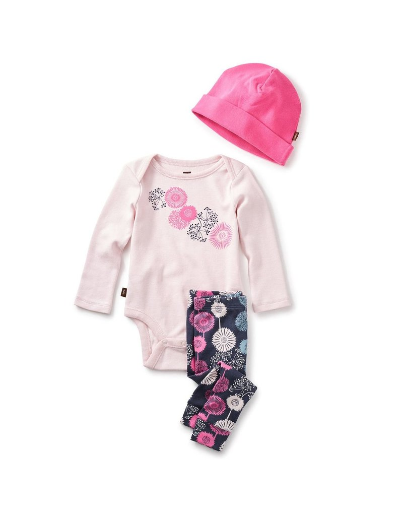Tea Collection Tea Collection Puff Baby Outfit