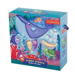 Mudpuppy Jumbo Puzzle Under the Sea