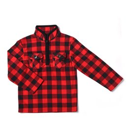 Kapital K Kapital K Plaid Fleece Pullover
