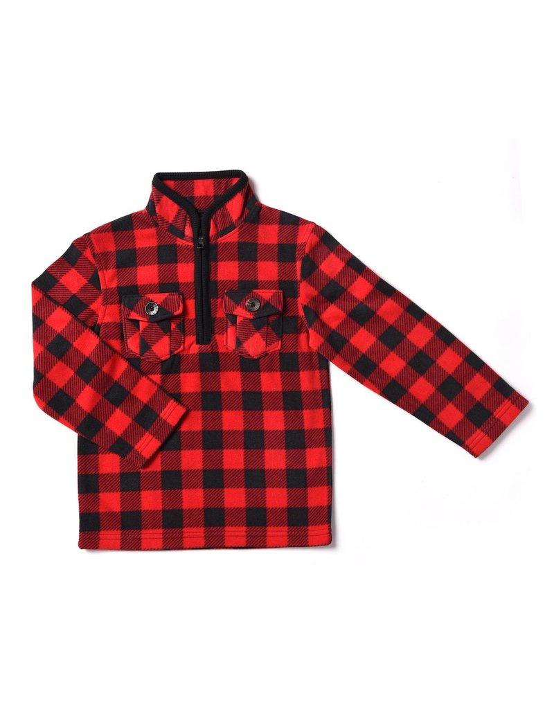 Kapital K Kapital K Plaid Fleece Pullover