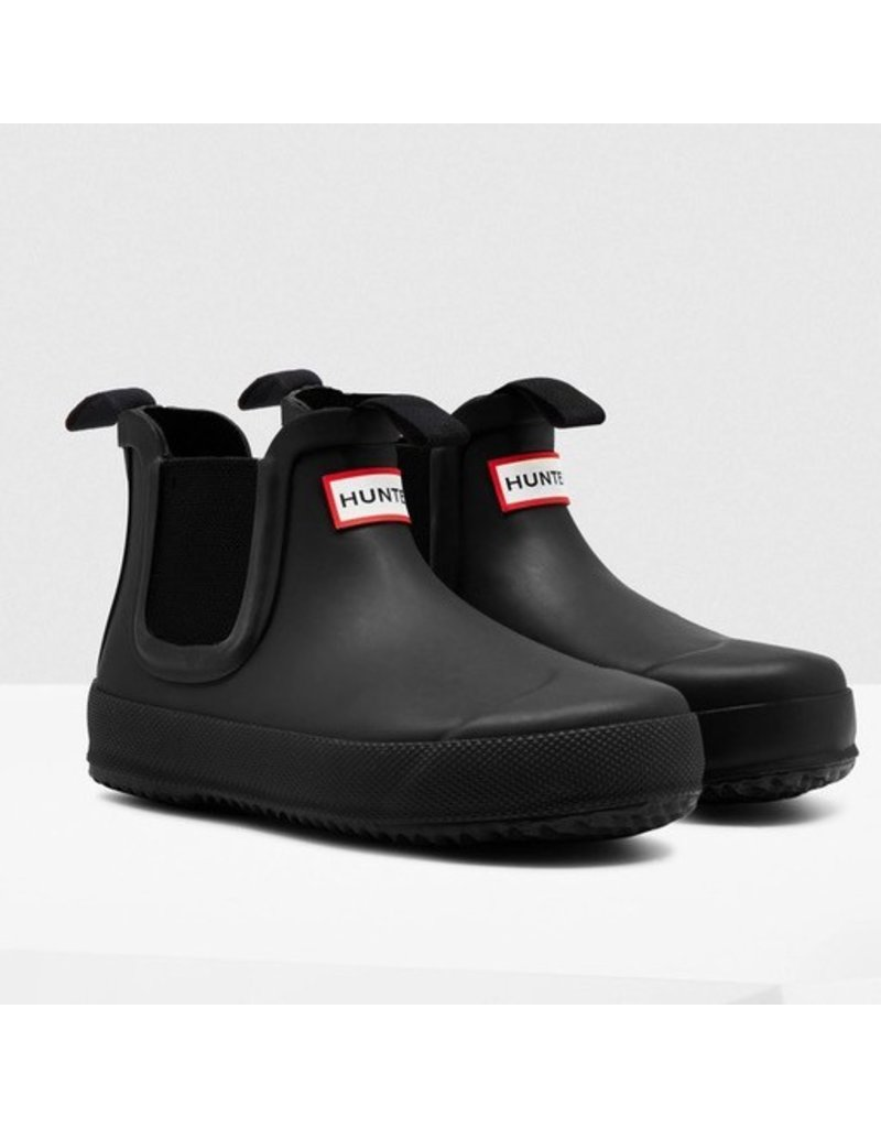 Hunter Boots Kid's Flat Sole Chelsea Hunter Boots