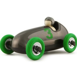 Playforever Playforever Bruno Roadster - Gun Metal w/Green Wheels