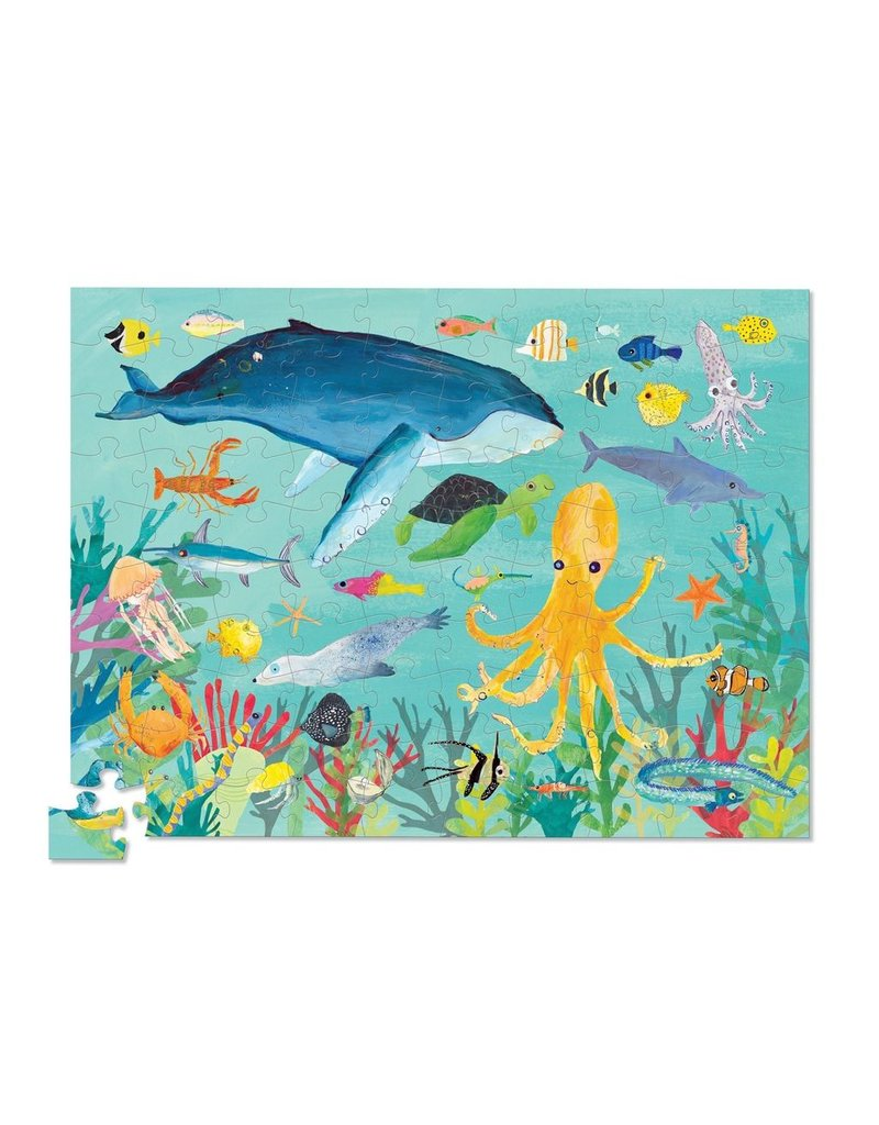 Crocodile Creek Crocodile Creek 36 Puzzle -  Ocean Animals