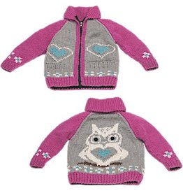 Ambler Owl Cowichan Sweater