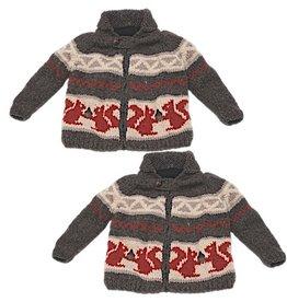 Ambler Squirrel Cowichan Sweater