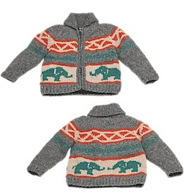 Ambler Elephant Cowichan Sweater