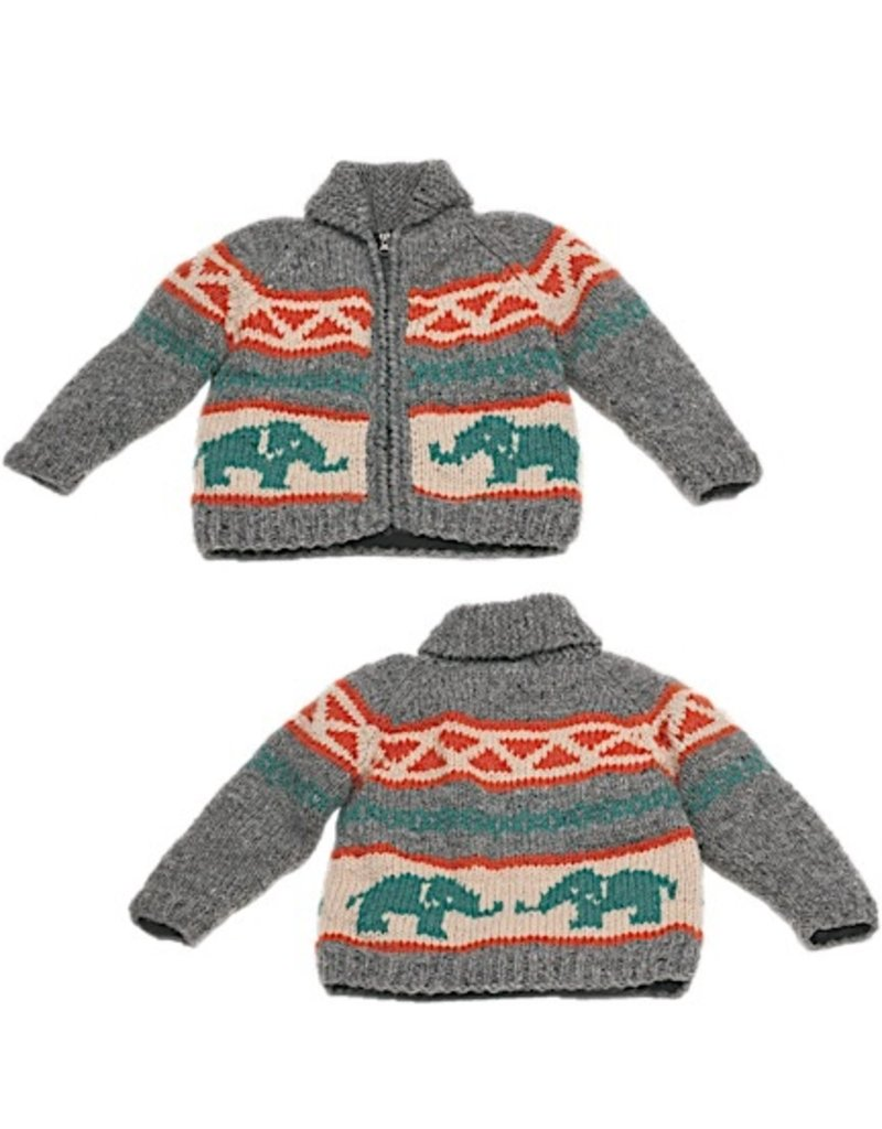 Ambler Elephant Wool Sweater