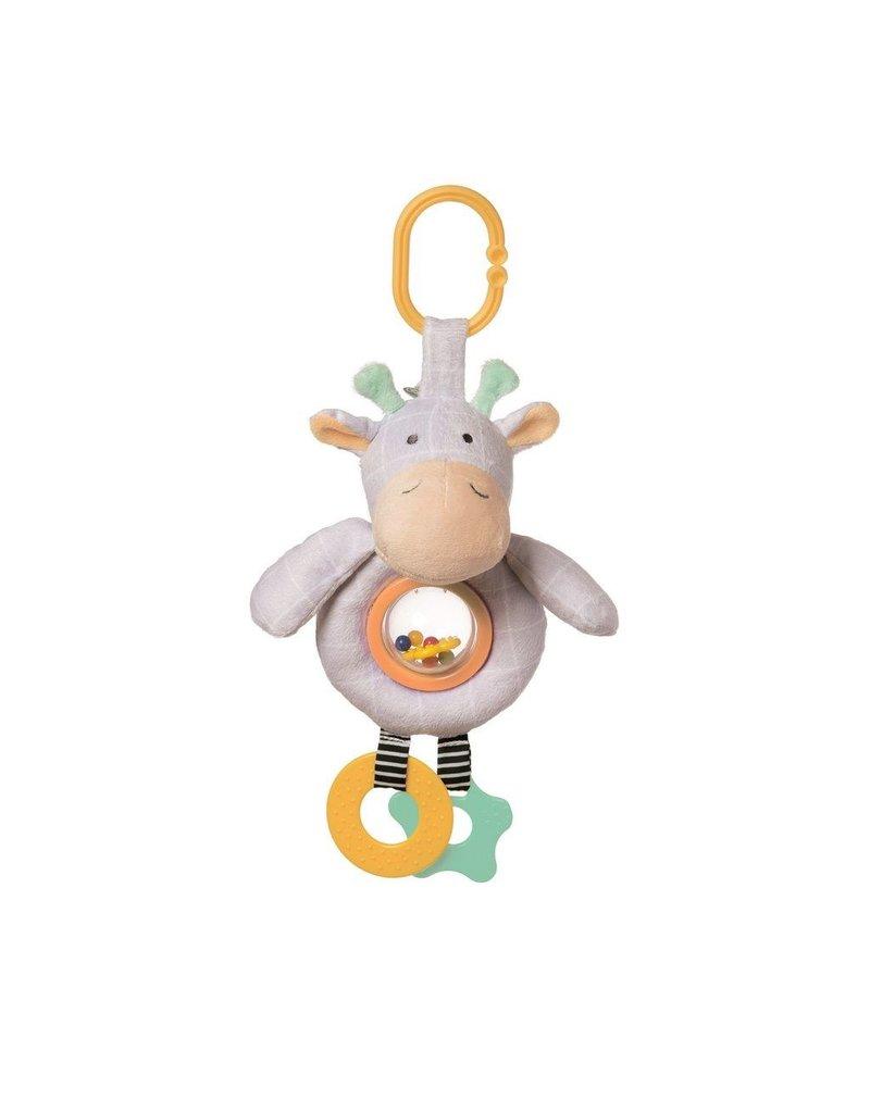 Manhattan Toys Playtime Plush Giraffe Rattle Toy