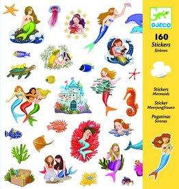 Djeco Djeco Stickers - Mermaids